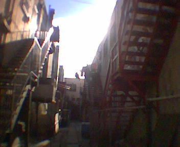 an alley in chinatown